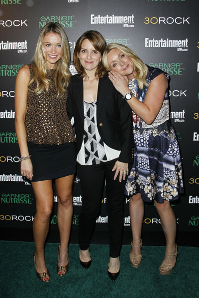 <p>Katrina Bowden, Tina Fey and Jane Krakowski at Entertainment Weekly&#39;s party for 30 Rock&#39;s final season at Isola in NoLIta, Wednesday, October 3, 2012.</p>