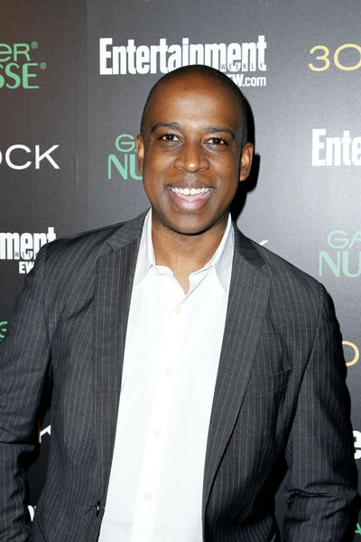 Keith Powell at Entertainment Weekly's party for 30 Rock's final season at Isola in NoLIta, Wednesday, October 3, 2012.