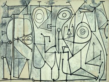 Picasso's black and white masterpieces are displayed at the Guggenheim.