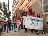 Forest Hills Students Rally to Support After-School Programs