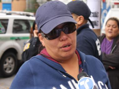Luz Dejesus, 37, wants to know how anyone could shoot her 19-year-old, Navy-bound son.