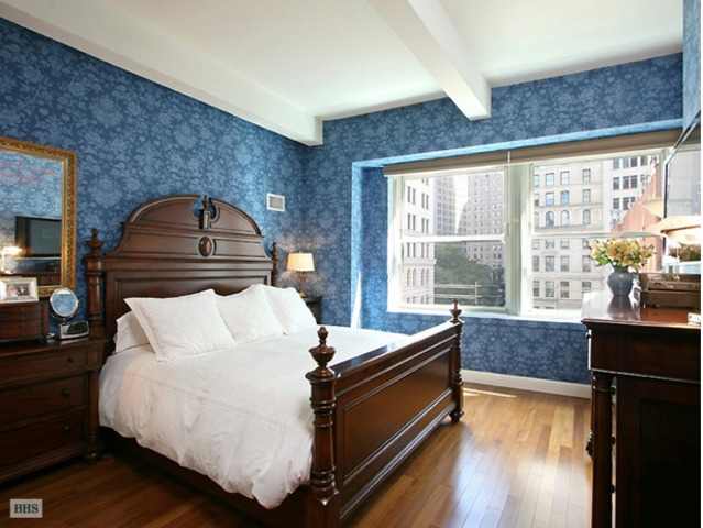 <p>A 2-bedroom overlooking Trinity Church at 88 Greenwich St. listed for $1.385 million by Brown Harris Stevens.</p>