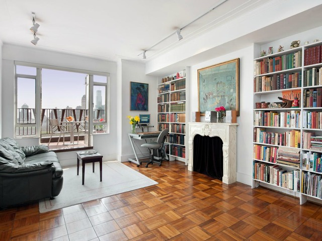 <p>A 1-bedroom, 1.5-bath condo at 25 Central Park West listed for $4.09 million by Prudential Douglas Eliman.<br /> 	&nbsp;</p>