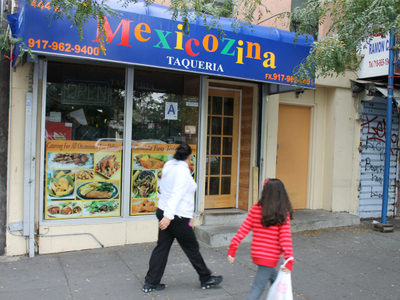 <p>The latest location, called Mexicozina, at 444 E. 149th St.</p>