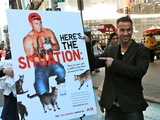 'Jersey Shore' Star 'The Situation' Unveils PETA Ad in Times Square