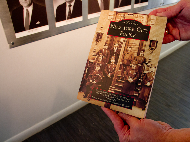 <p>Joshua Ruff, curator of the New York City Police Museum, and Michael Cronin, a former NYPD detective, are co-authors of the new book titled &quot;New York City Police,&quot; a historical account of the country&#39;s oldest law enforcement departments.</p>
