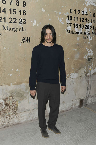 <p>Designer Olivier Theyskens at the lunch of Maison Martin Margiela for H&amp;M at 5 Beekman in the Financial District, Tuesday, October 23, 2012.</p>