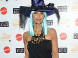 Padma Lakshmi Gets Witchy at Times Square Halloween Party