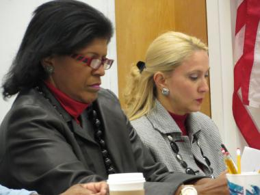 Communtiy Board 12 and area electeds discussed the affordable housing crisis in Upper Manhattan on Oct. 11, 2012.