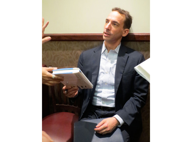 <p>Author Paul Taugh discussed his new book &quot;How Children Succeed&quot; in the Upper East Side on Tuesday, Oct. 23 2012.</p>