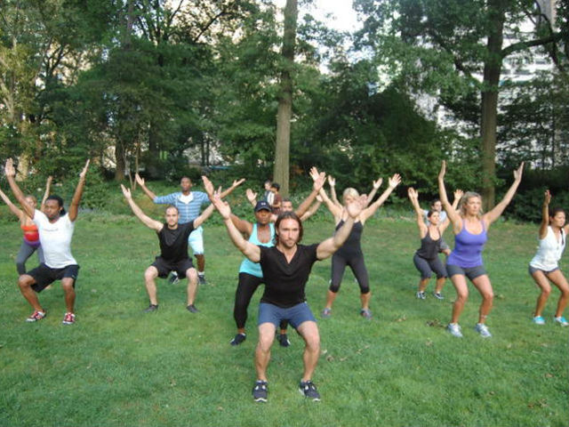 <p>The People&#39;s Bootcamp meets in Central Park on Monday, Tuesday, Thursday and Friday and attendees can pay what they wish.</p>