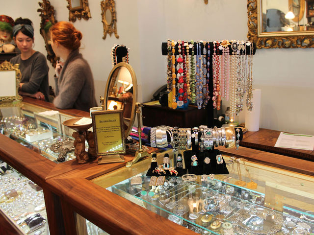 Pippin has both high-end and inexpensive jewelry.