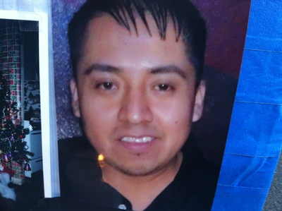 <p>&nbsp;Francisco Pinzon-Martinez, 30, who was found dead at a Metro PCS store in Hamilton Heights on October 19, 2012.</p>