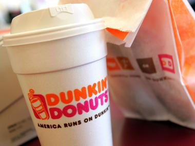 Dunkin' Donuts was the largest chain in New York in 2012, with 484 locations across the five boroughs.