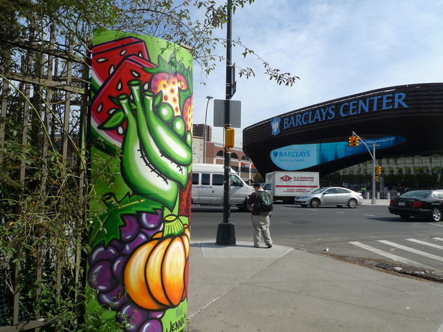 <p>Gardeners at the Brooklyn Bears Community Garden say Barclays Center patrons are peeing on their plants.</p>