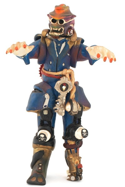 <p>This figurine by Rammellzee is called &#39;Barshaw Gangstar.&#39;</p>