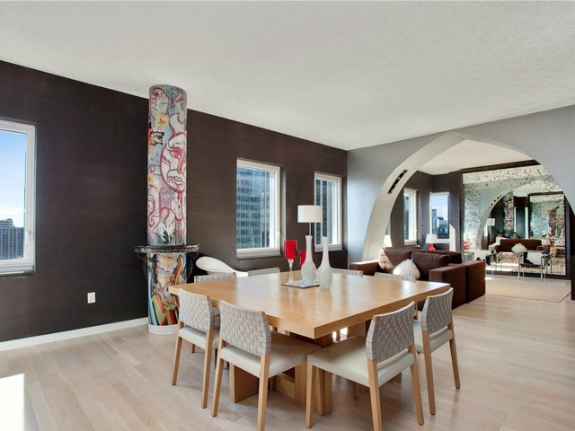 <p>Another spacious dining area in the five-bedroom penthouse duplex in CASSA NY CONDOMINIUMS, at 70 West 45th St., listed by Prudential Douglas Elliman for $35,000 a month.</p>
