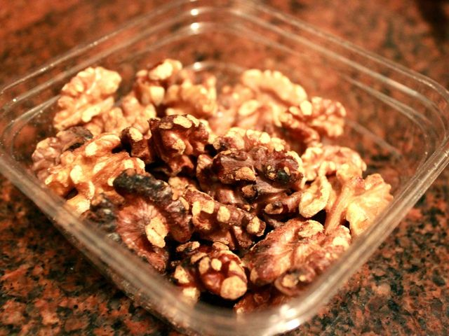 <p>Roasted walnuts.</p>