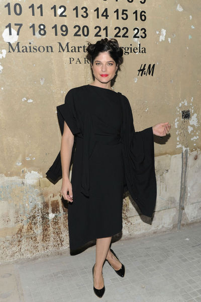 <p>Selma Blair at the lunch of Maison Martin Margiela for H&amp;M at 5 Beekman in the Financial District, Tuesday, October 23, 2012.</p>