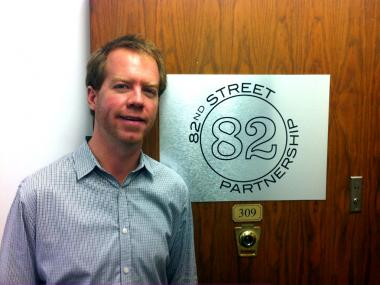 Seth Taylor and the 82nd Street Partnership have worked to right the wrongs of a previous organization.