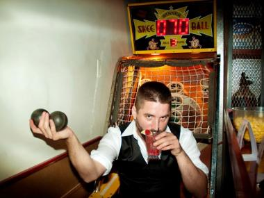 Fall brings in the season of skeeball in local watering holes.