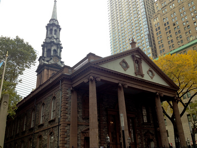 <p>St. Paul&#39;s Chapel, which is owned and operated by Trinity Church.</p>