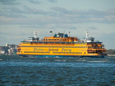 New York City announced that it will start temporary ferry service from Great Kills to Manhattan on Monday to ease commute times for Staten Island residents in neighborhoods hit hard by Hurricane Sandy, Nov. 20, 2012.