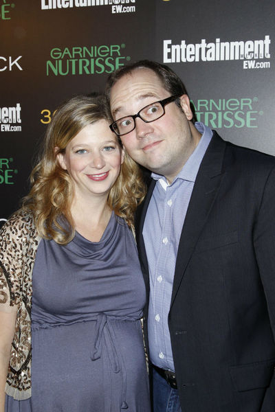 <p>Sue Calloway and John Lutz at Entertainment Weekly&#39;s party for 30 Rock&#39;s final season at Isola in NoLIta, Wednesday, October 3, 2012.</p>