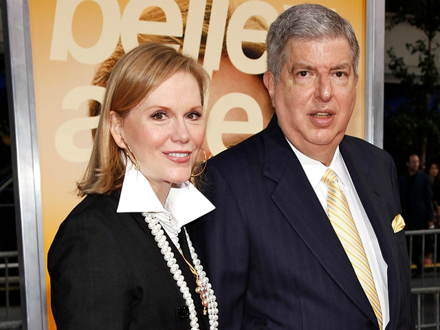<p>Composer Marvin Hamlisch and his wife, Terre Blair, attend the New York premiere of &quot;The Informant&quot; in 2009. He died Aug. 6, 2012. In his will, he stipulated that she should receive his awards, regardless of whether they were married at the time of his death.</p>