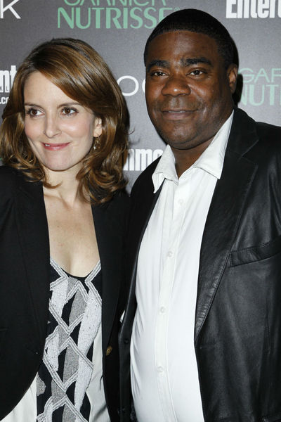 <p>Tina Fey and Tracy Morgan at Entertainment Weekly&#39;s party for 30 Rock&#39;s final season at Isola in NoLIta, Wednesday, October 3, 2012.</p>