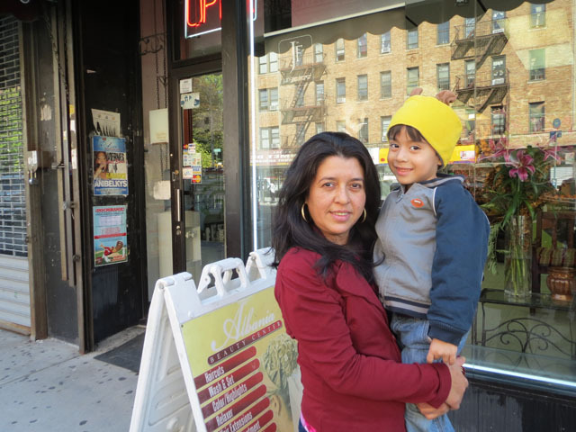 <p>Lucila Silva wonders how proposed dezoning might impact her son, 4-year-old Aaron.</p>