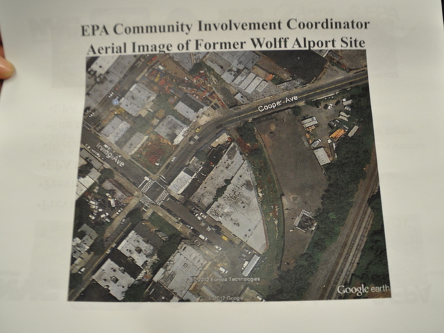 <p>The EPA gave out information about radiation at the former Wolff-Alport&nbsp;Chemical Company site at a recent Bushwick Community Board 4 meeting.&nbsp;</p>