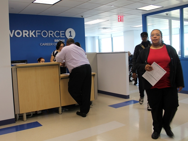 <p>Workforce1 offices, located upstairs, help match job seekers with available employment opportunities and with job preparation, providing resume help, interview tips and other services.</p>