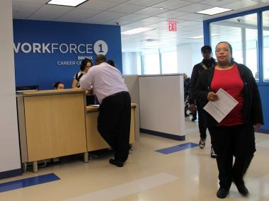The 30,000-square-foot space hosts a NYC Business Solutions Center, a Workforce1Career Center and a business incubator for nearby Fordham University.