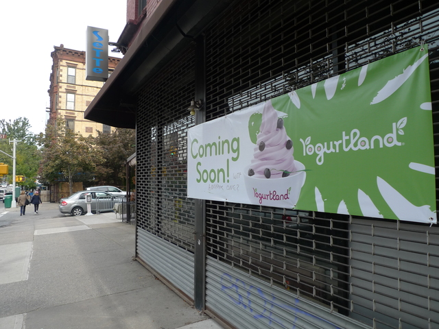 <p>Yogurtland is slated to open soon on Seventh Avenue and Third Street.</p>