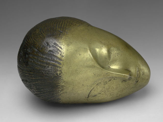 <p>Constantin Brancusi&#39;s &quot;Sleeping Muse&quot; (1910) shows his interest in African sculpture.</p>