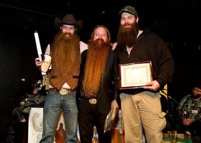 <p>The competition includes &quot;best beard longer than 1 foot,&quot; &quot;freestyle,&quot; and other categories.</p>
