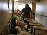 Elderly Sandy Evacuees Find Temporary Home in Empty Brookdale Hospital Wing
