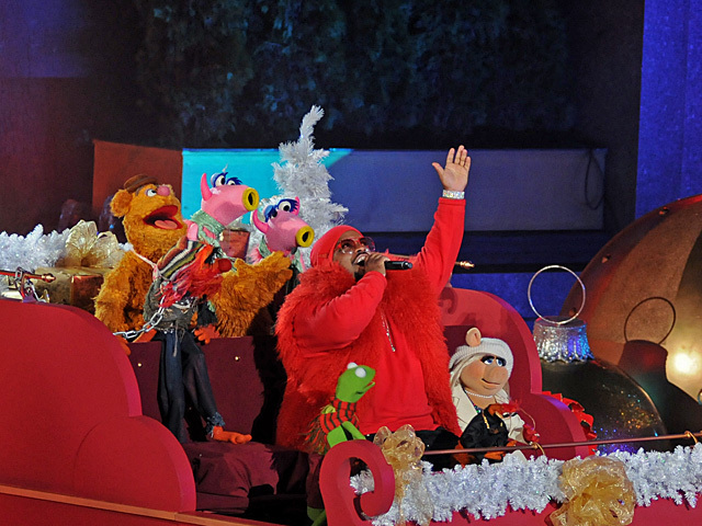 <p>Cee Lo Green performed at the Rockefeller Center Christmas tree lighting Nov. 28, 2012, starting the end of the year holiday season in the city.</p>