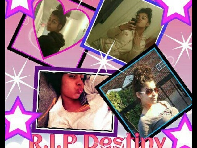 <p>A collage on Facebook dedicated to Destiny Sanchez, a 15-year-old who was found dead on Nov. 23, 2012 in the entrance of a relatives&#39; home.</p>