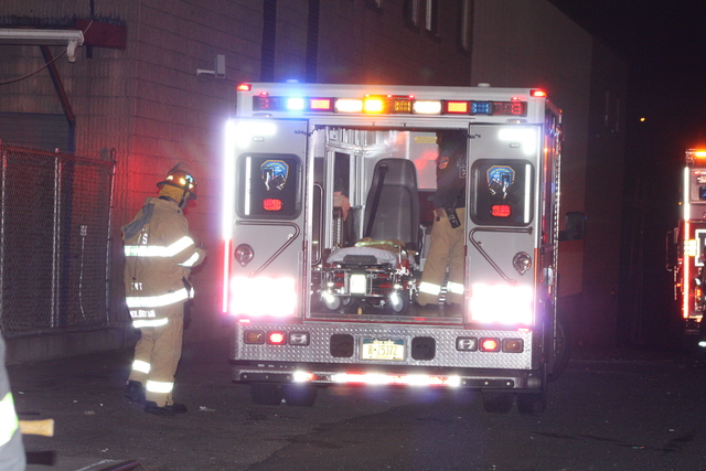 <p>A Con Ed worker was burned in an explosion at 55-30 46th St. in Queens Nov. 26, 2012.</p>