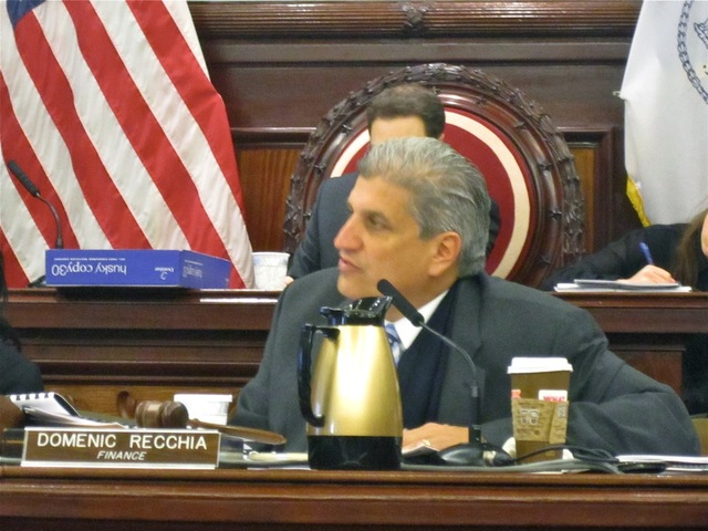 <p>Councilman Domenic Recchia, chair of the City Council&#39;s finance committee, led a Nov. 20, 2012 hearing on the SoHo BID proposal.</p>