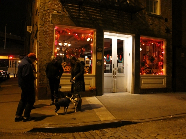 <p>The Cowgirl Sea-Horse, at 259 Front Street, reopened its bar on Thursday , Nov. 15, after being closed for over two weeks after flooding during Hurricane Sandy.</p>