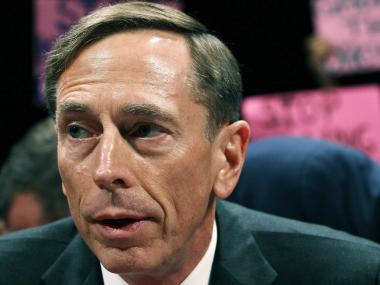 Central Intelligence Agency Director David Petraeus participates in a House Select Intelligence Committee and Senate Intelligence Committee joint hearing, on September 13, 2011 in Washington, DC. The joint committee is meeting to hear testimony on the state of intelligence reform 10 years after the 9/11 attacks.