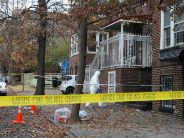 The NYPD is investigating the death of the girl, who was found at 640 Barretto St. Friday morning, Nov. 23, 2012.