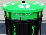 Street Recycling Program Launched in Midtown East