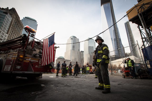 <p>A small underground fire broke out at the World Trade Center Nov. 20, 2012.</p>