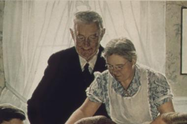 "Norman Rockwell's iconic painting, ""Freedom from Want"" can paint a pressure-filled expectation of a perfect holiday."