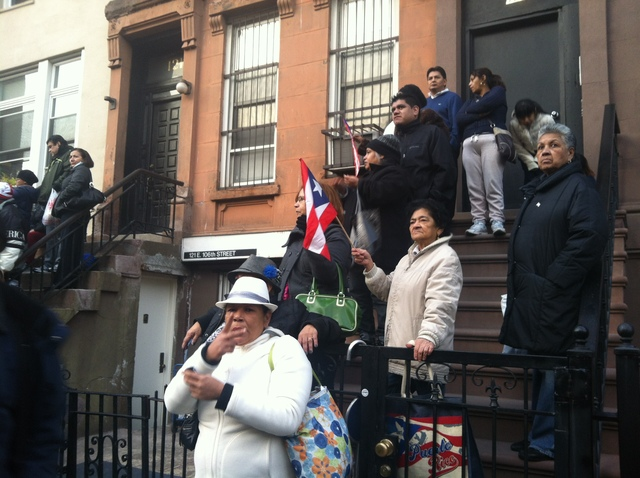 <p>Hector Camacho, boxing champion, was mourned in Harlem Nov. 30, 2012.</p>