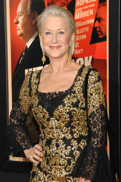 <p>Helen Mirren at the New York premiere of &#39;Hitchcock&#39; at the Ziegfeld Theater in Midtown, Sunday, November 18, 2012.</p>